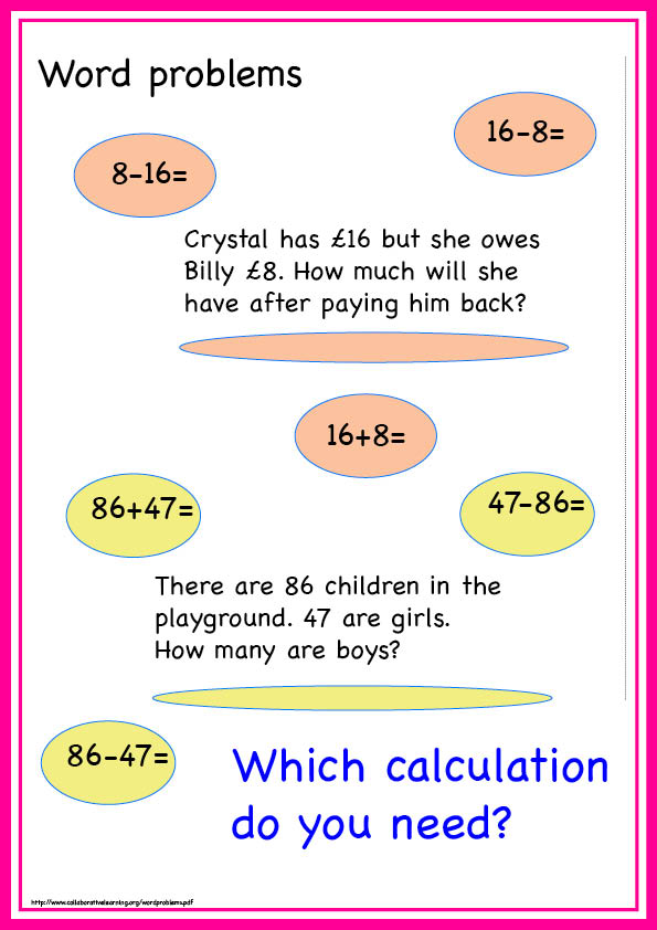 Collaborative Maths Resources PAGE 4